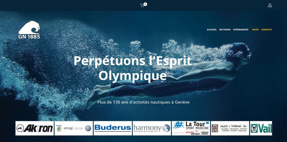 Genève Natation 1885 - Genève (sites: natation, plongeon, waterpolo, école de nat. + page principale)