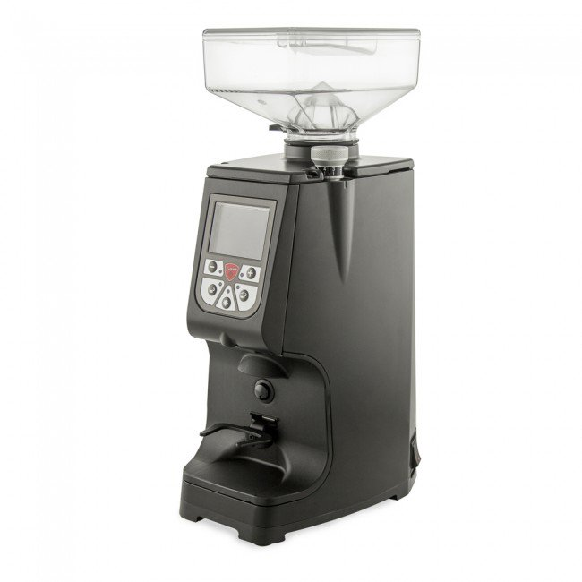 The Eureka Atom Espresso Grinder works to uniformly grind your beans all while being easily adjustable and quiet & is also available for purchase.
