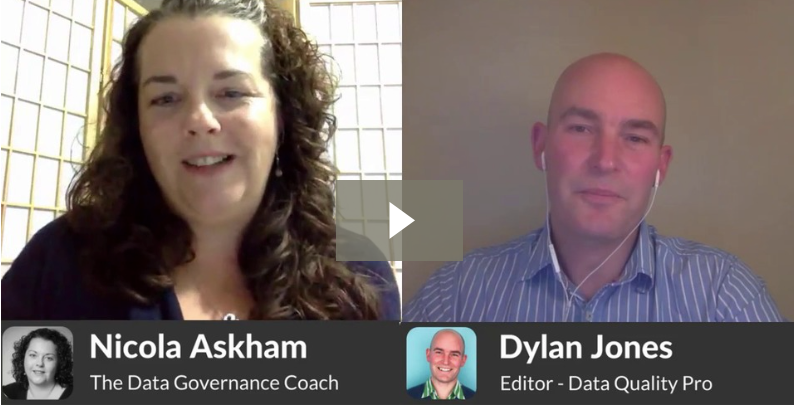 Data Governance the first six months interview