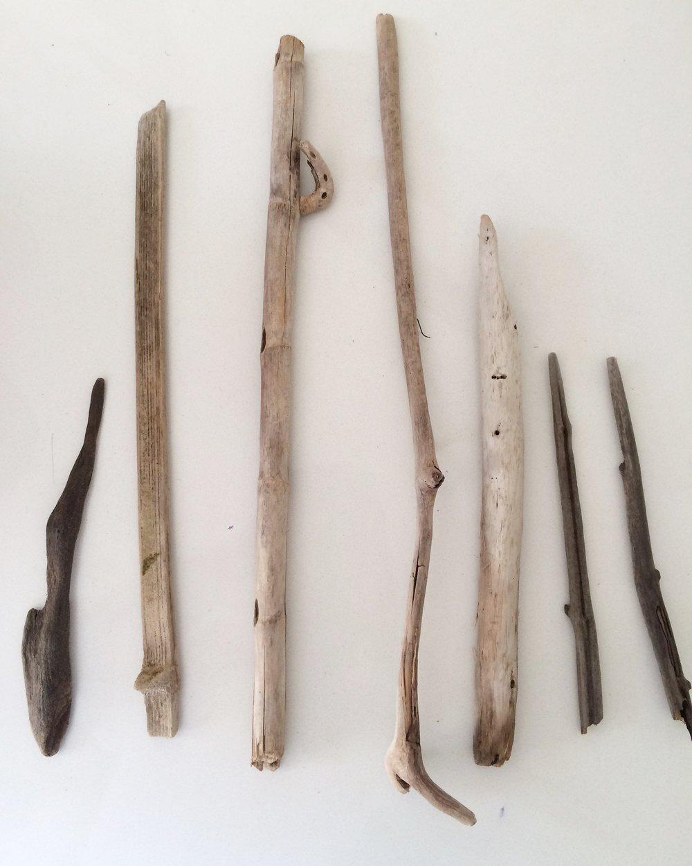 Stick collection (Process) Dorado, 2016