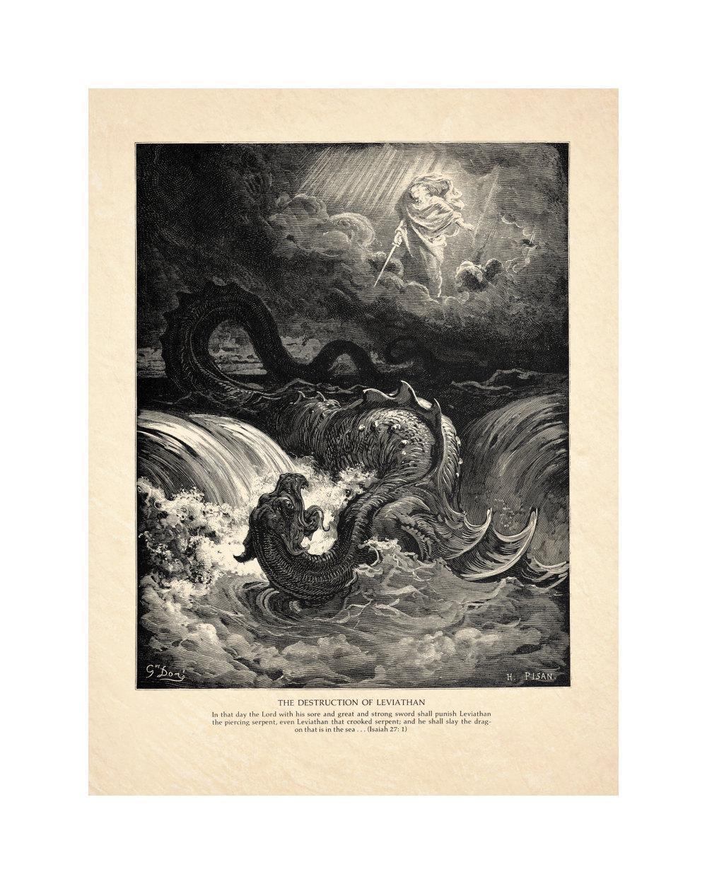 The Destruction of Leviathan Doré