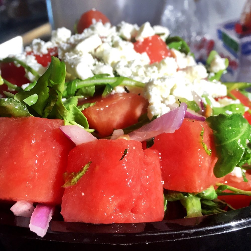The Watermelon Salad!