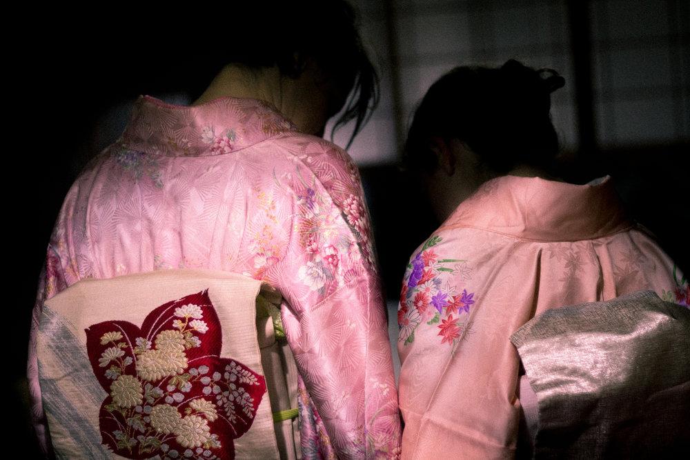 Details of our kimonos.