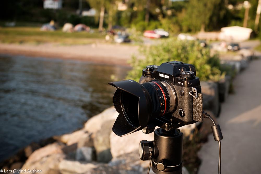 The Samyang 12mm F2.0 NCS CS mounted on my Fujifilm X-T1.