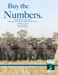 "October 2011  ""Buy the Numbers"" Bull and Female Sale"