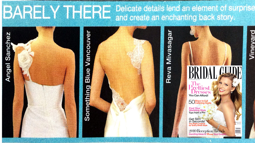 Our lace tattoos featured in Bridal Guide.