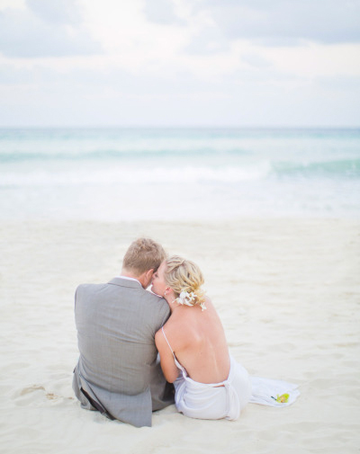 Style Me Pretty feature on a Mexico Destination Wedding.   Photo by  Rensche Mari
