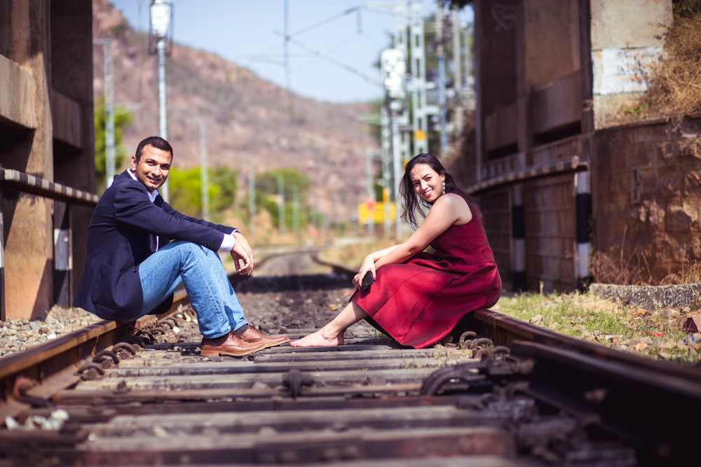 MAKALIDURGA TREK - COUPLE SHOOT