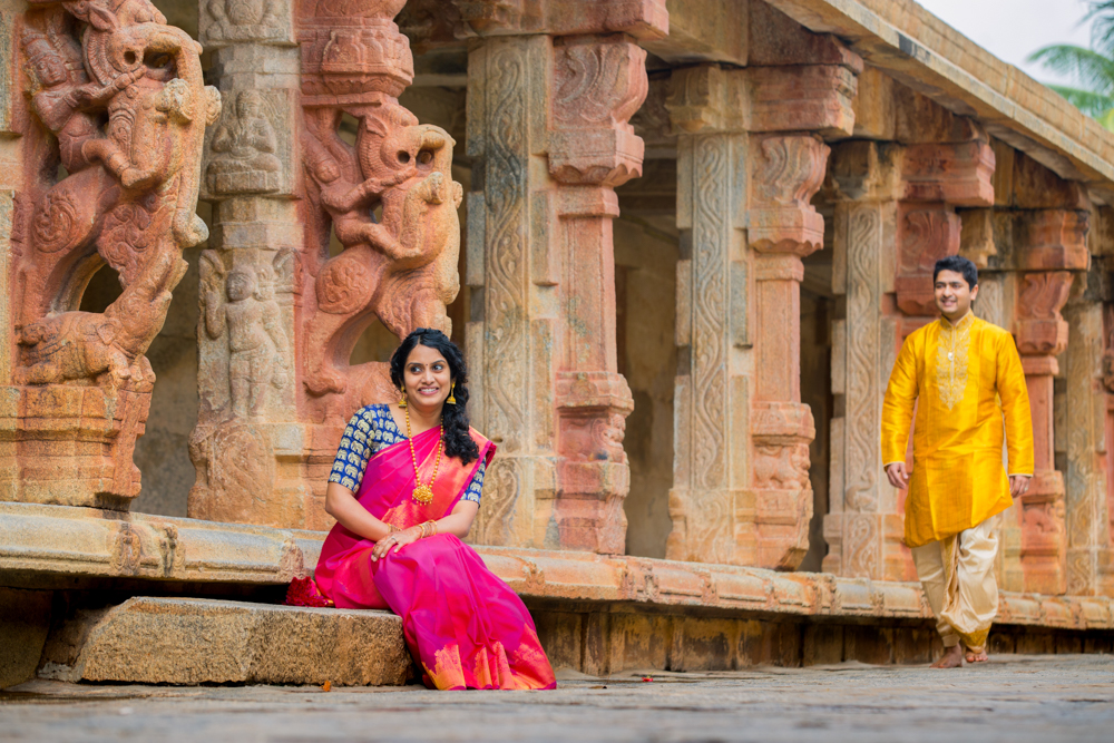 BHOGANANDISHWARA TEMPLE - COUPLE SHOOT