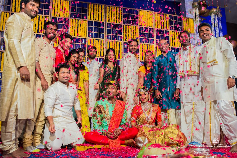 Temple bay Mahabalipuram  Telugu Wedding133.jpg