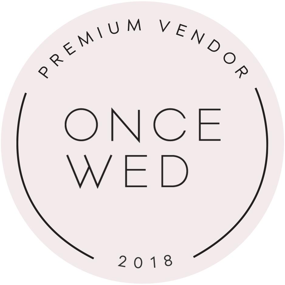 Once Wed Preferred Vendor Callista & Company