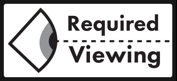 Logo designed for local film screening event.