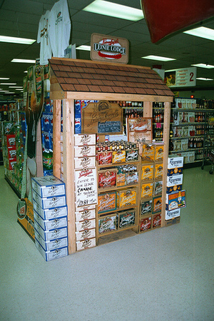 Leinenkugel Beer Display.jpg