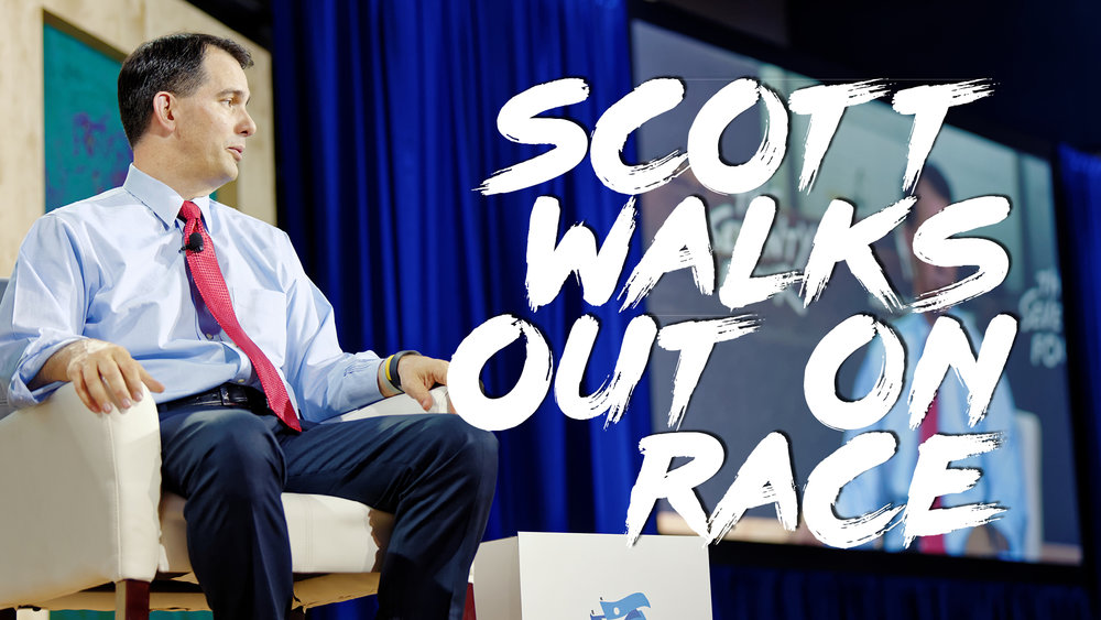Walker Takes A Hike, Drops Out Of 2016 Race