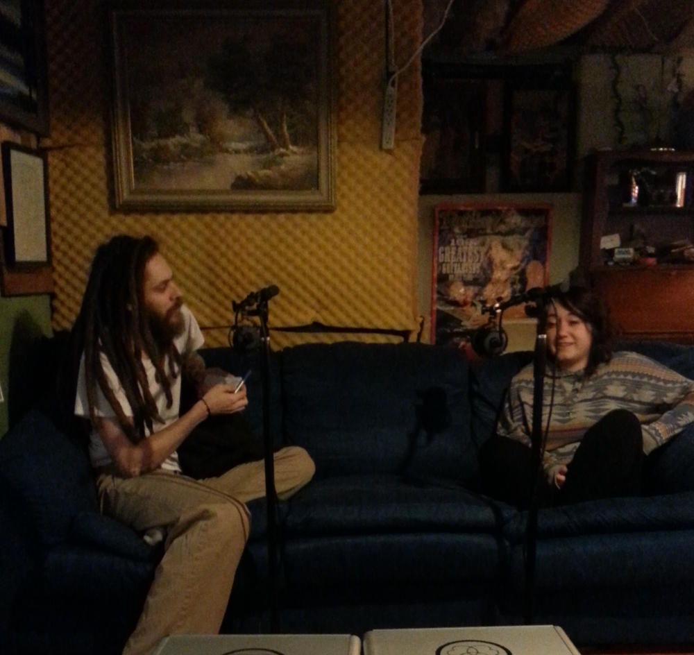 Podcasting with Ash (Gilmore)