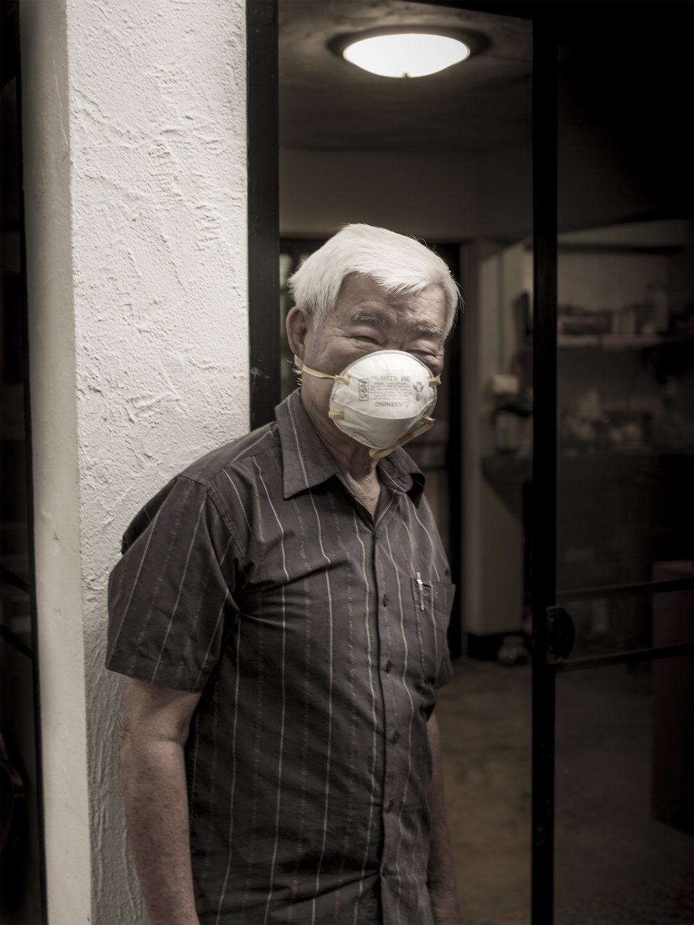 พ่อ Paw  78  เชียงใหม่ Chiang Mai  ความเงียบ Silence