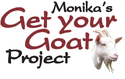 So what's with the goats???      I've decided to give back a little. When I sell any of my ladybug earrings and pins as well as my tree frog and ladybug name pins, I will donate the proceeds from the sale of each towards buying a goat for a needy family in Uganda through  Global Friends Foundation . See the details in the   Get Your Goa    t   page.