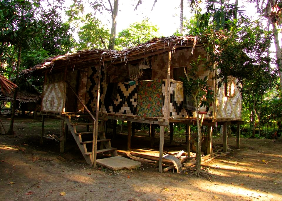 Their home in the village.