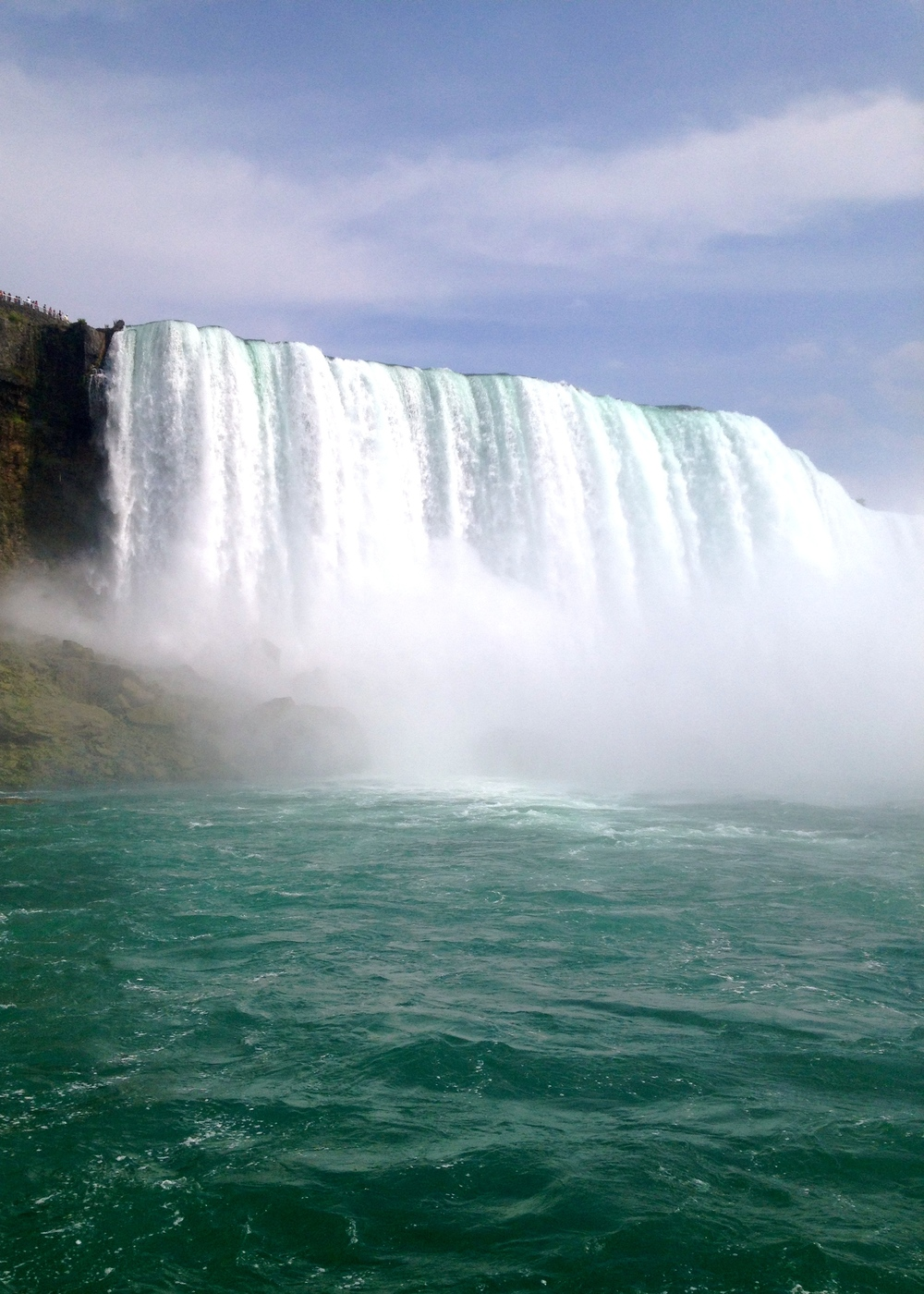 Niagara Falls from the boat.
