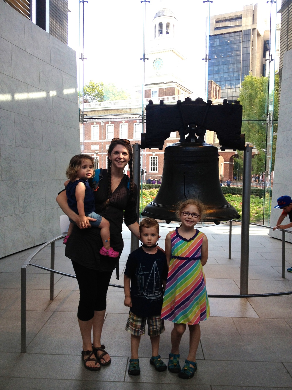 Finally got in to see the Liberty Bell :)