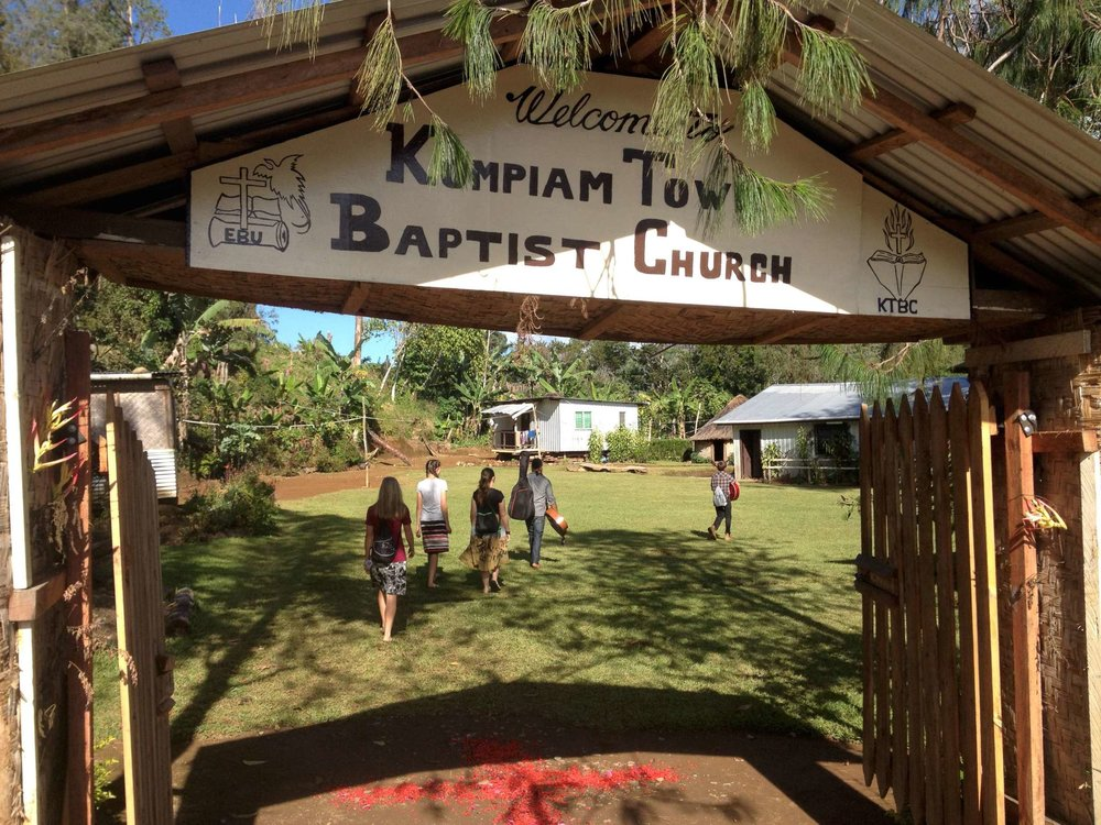 Going to church in Kompiam is always a blessing. They let us do the whole service from worship to student testimonies to Marty preaching.