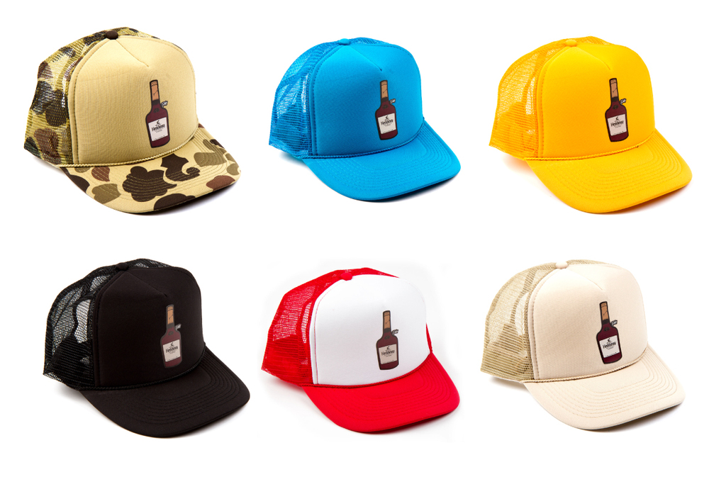 If your holiday drink of choice happens to be Hennessy then this is the hat for you. We added a couple new holidays colors this time around along with the classics.