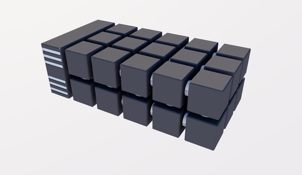 MIPS-based 24 Nodes beowulf hybrid cluster