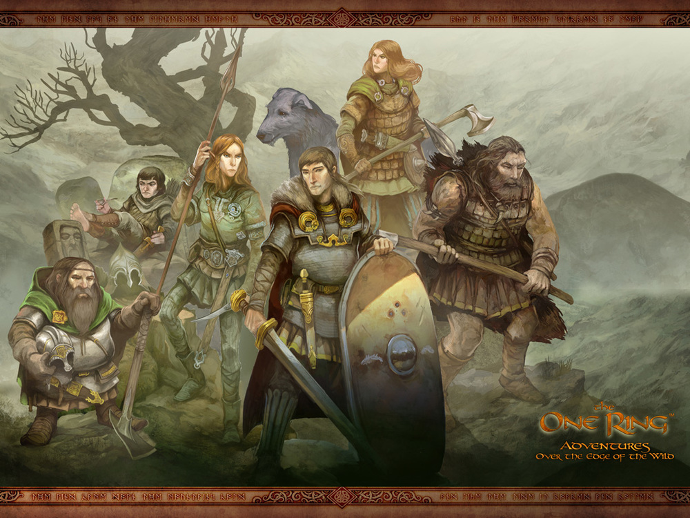 The One Ring Roleplaying Game Review — The One Ring