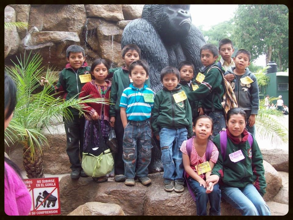 School field trip to the Guatemala Zoo.  May, 2013