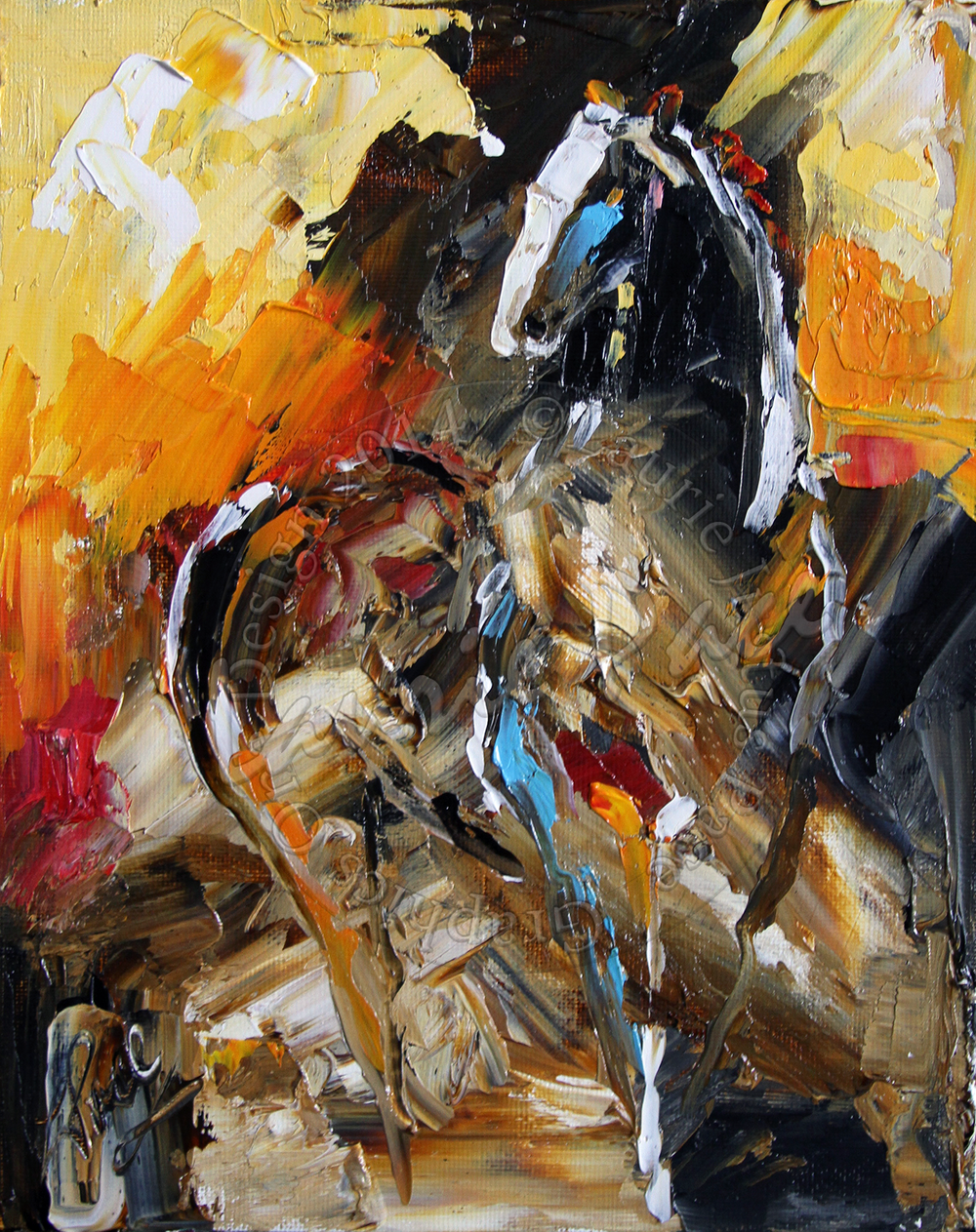 Horse 43 After the Storm by Laurie Pace