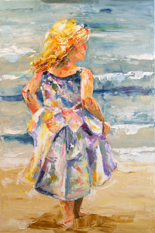 At the Ocean by Laurie Pace ©2010
