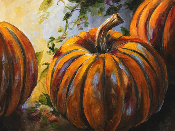Pumpkins on a Vine Laurie Pace ©2013