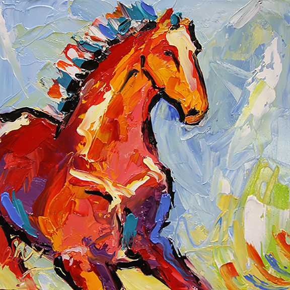 Horse 87 Filly on the Run ©Laurie Pace 2014