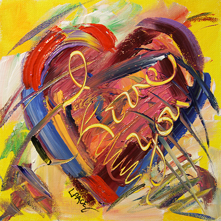 """I Love You""  Heart 2015 © Laurie Pace 2015"