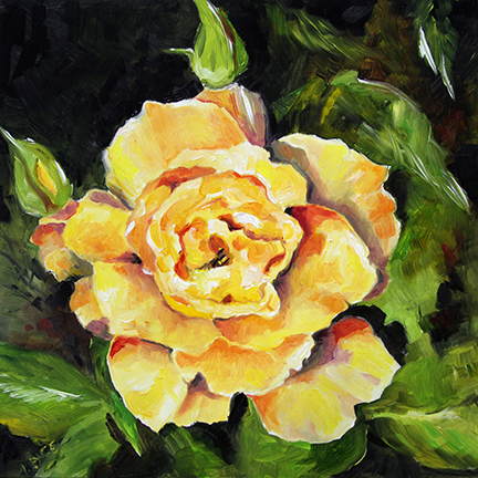 Becky's Yellow Rose by Laurie Pace © 2015