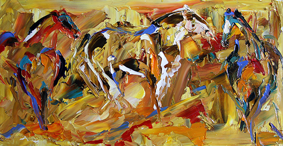 blog Horse 4 If you go I will Follow You 6 x 12 oil L Pace.png