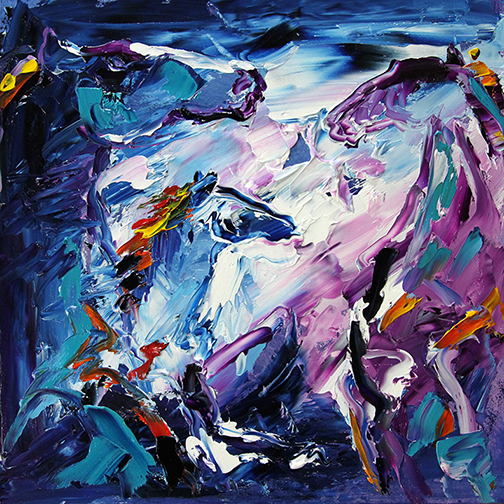 Horse 29 Breaking Out at Midnight © Laurie Pace 2015
