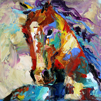 Summer Horse One 2012 © Laurie Pace SOLD