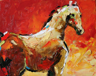 Summer Horse 7 2012 © Laurie Pace