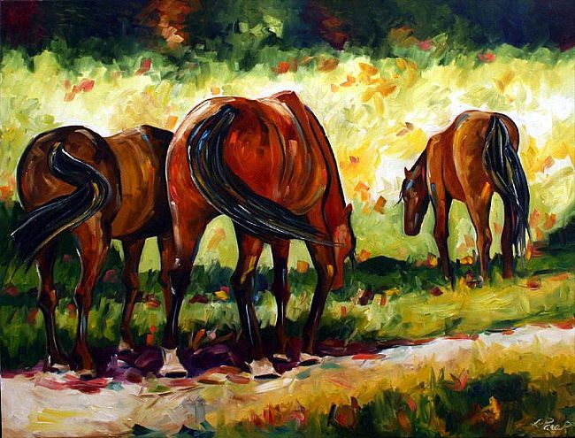 Horses Three © 2006 Laurie Pace