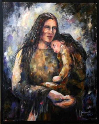 In Her Father's Arms © Laurie Pace 2005