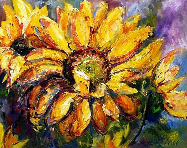 Early Sunflower  © Laurie Pace 2007