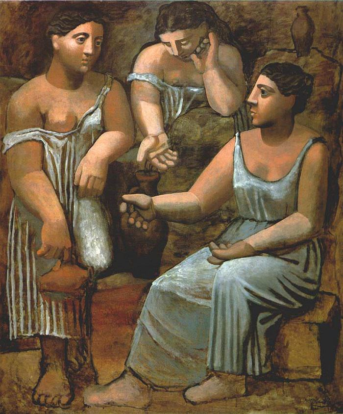 Three Women at the Spring  Neo-CLassicism   Picasso
