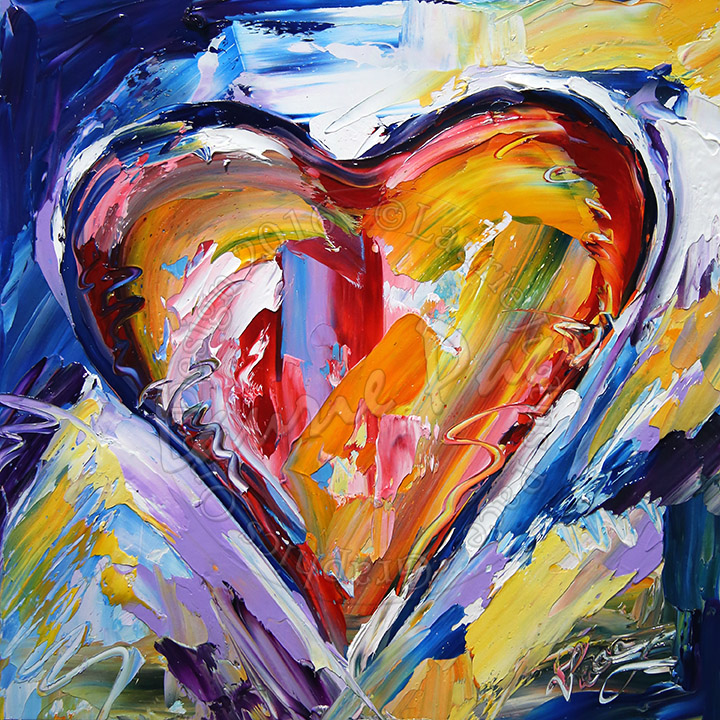 HEART PAINTINGS