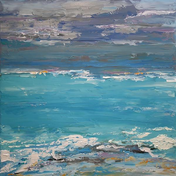 blog Quiet Horizon 36 x 36 acylic Canvas Laurie Justus Pace 9232017.png