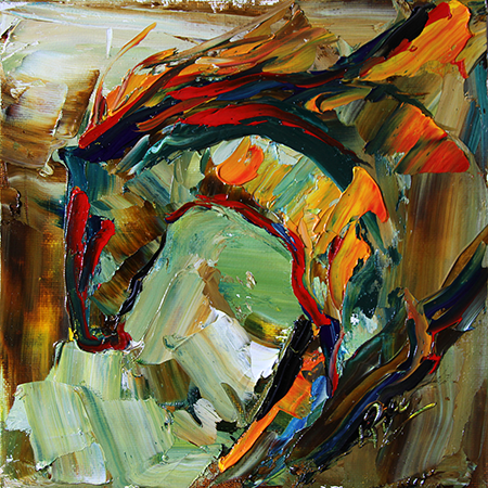 Summer Horse 57 2012 © Laurie Justus Pace SOLD
