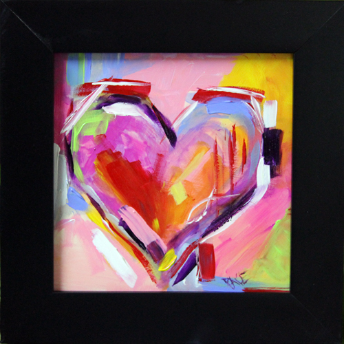 BLOG Heart Series 1 Framed 6 x 6  painting with frame.jpg
