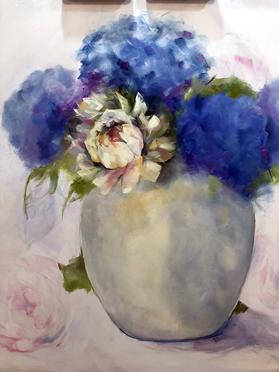 Laurie Pace Progress painting Flower Painting Pure Justus Collection.jpg