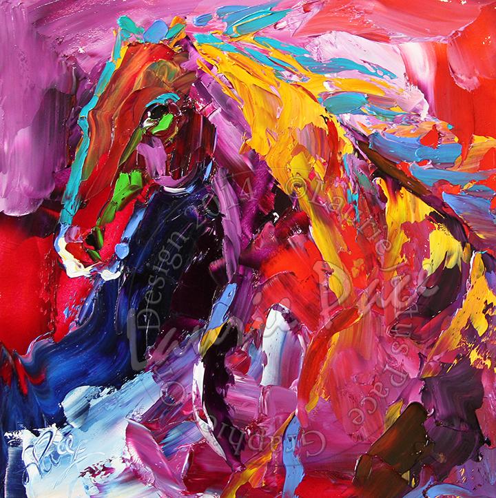 blog Horse 22 Gaze of Strength 8 x 8 Oil on Board L Pace.jpg