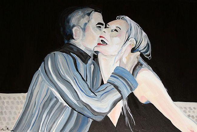 Magic Moment Pop Art Commission 2007 Sold © Laurie Justus Pace 2007